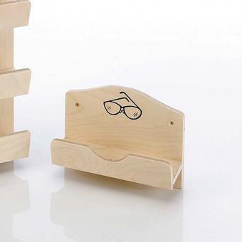 Brillenhalter Schichtholz natur