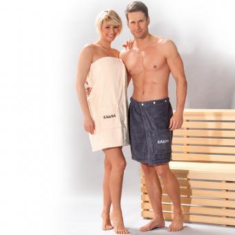 Sauna-Kilt »OPAL« Damen, perle
